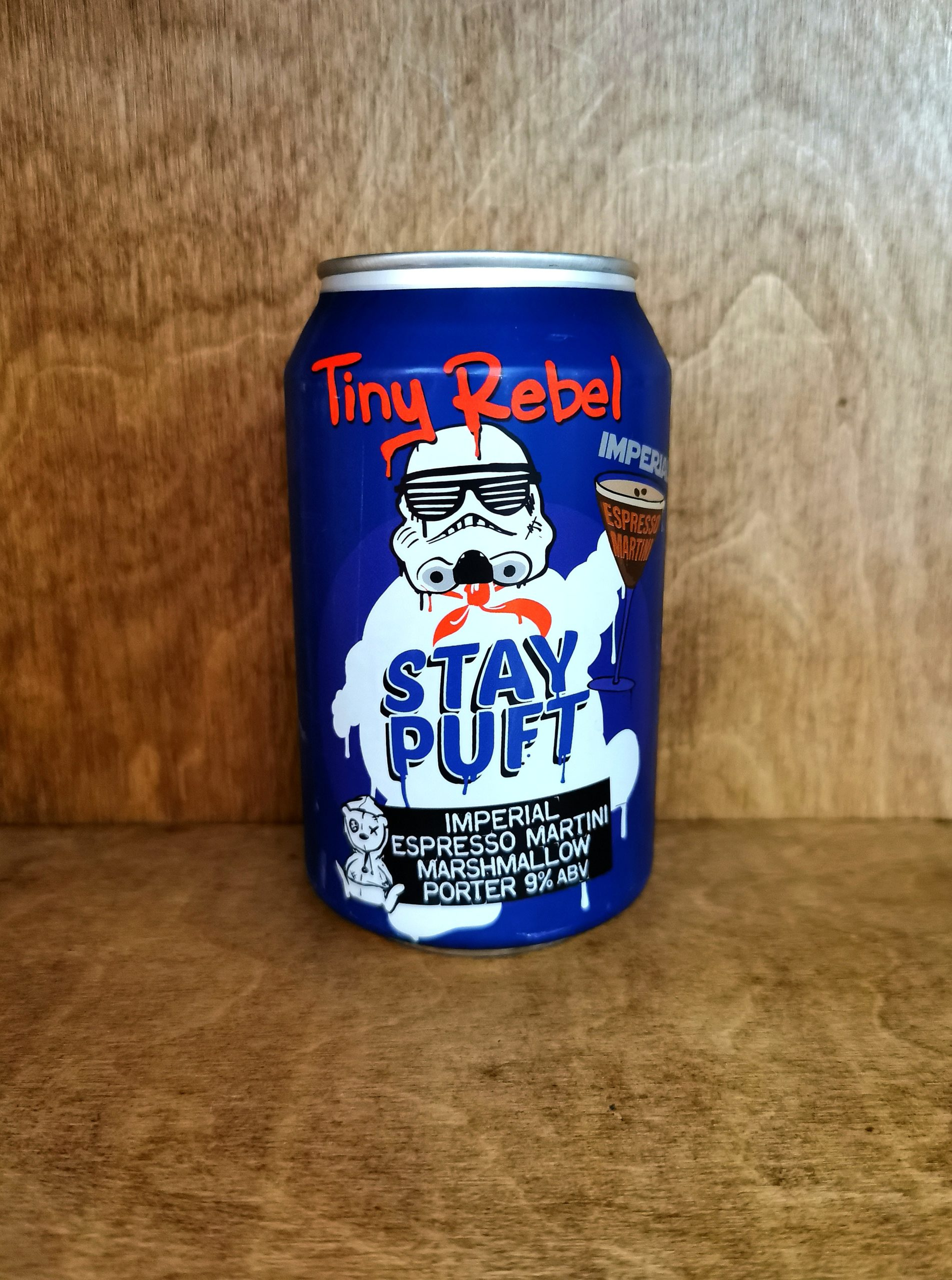 Tiny Rebel Stay Puft Imperial Espresso Martini Marshmallow Porter - The Duck Pond